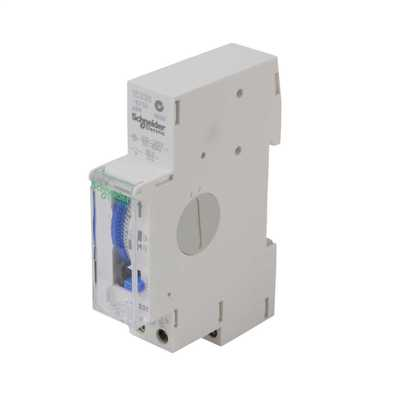 230V AC 16A 24 Hour Mechanical Time Switch White