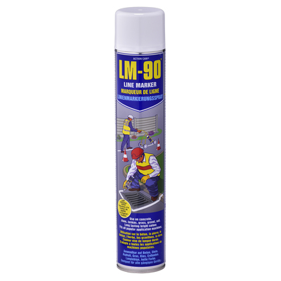 LM90 Line Marker Paint White 750ml