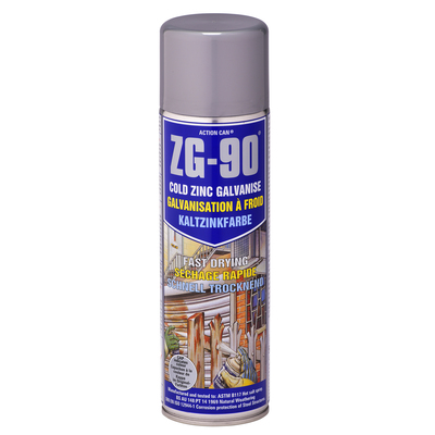 ZG 90 Cold Zinc Paint Galvanised 500ml
