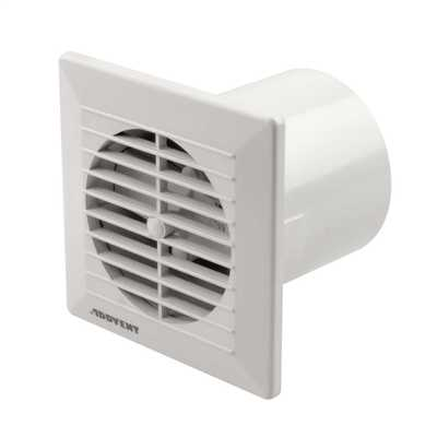 "100mm 4"" Flush Fit Fan with Timer"