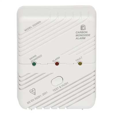 CO Detectors Mains Powered