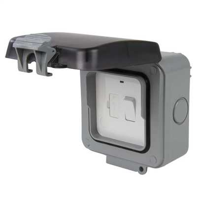 13a Switched Fused Spur Weatherproof Ip66 Cef