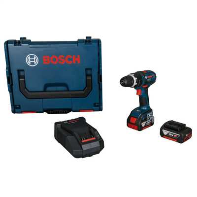 18V Dynamic Impact Drill with 2 x 4.0Ah Batteries