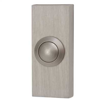 Bell Push Brushed Nickel