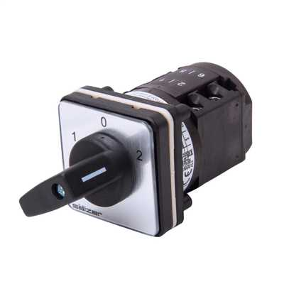 20A 2 Pole Panel Mounting Changeover Switch IP66