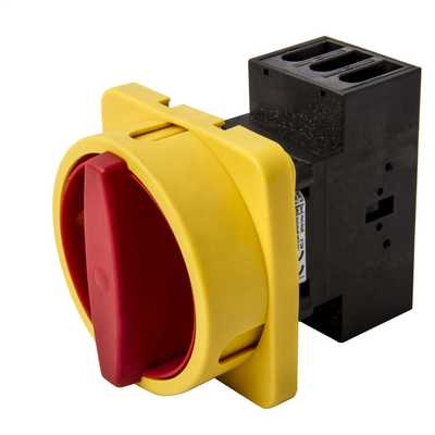 100A 3P Front Panel Mounting Isolator IP66