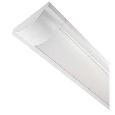 600mm 25W LED Surface Mounted Linear Fixture Cool White