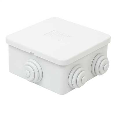 80 x 80 x 40mm PVC Adaptable Box IP44