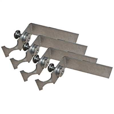 Plasterboard Mounting Brackets for Recessed Modular (Pack of 4)