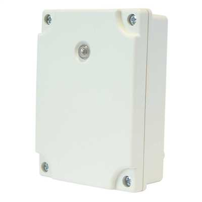 Perfect Deluce Adjustable Electronic Photocell IP65 With Timer White
