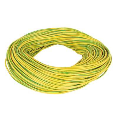 Earth Sleeving 3mm x 100m Drum Electricians Earth Cable Sleeving 100 metres