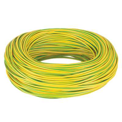 Yellow Earth Sleeving 100 Metres 3mm Green