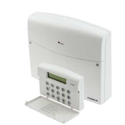 Challenger 10 Zone Panel with Remote LCD Keypad
