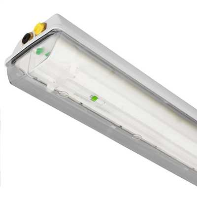 2 x 13w zone 1 exde led light fitting