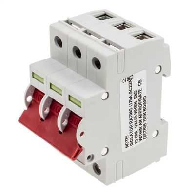 125A TP Switch Disconnector Isolator Incomer