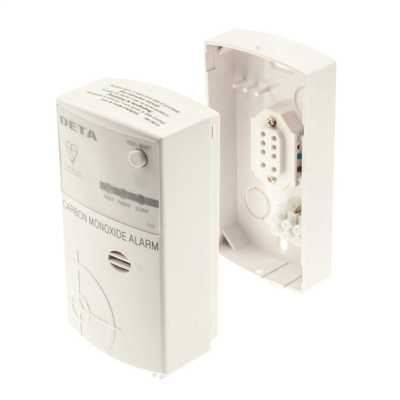 Deta 1121 Mains Operated Fixed Carbon Monoxide Alarm