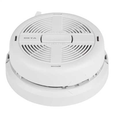 230V Ionisaton Smoke Alarm with Battery Back Up