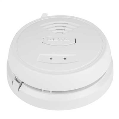 230V Thermally Enhanced Optical Smoke Alarm with Battery Back Up
