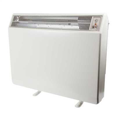2.55kW / 1.45kW Electric Combi Storage Heaters White