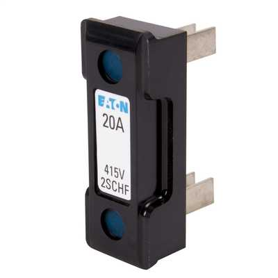20A Moulded Fuse Carrier Black