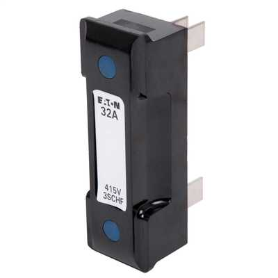 32A Moulded Fuse Carrier Black