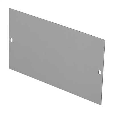 100mm Width Blank Plate for Floor Box