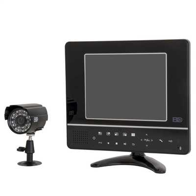 Combination CCTV Access Control System Black