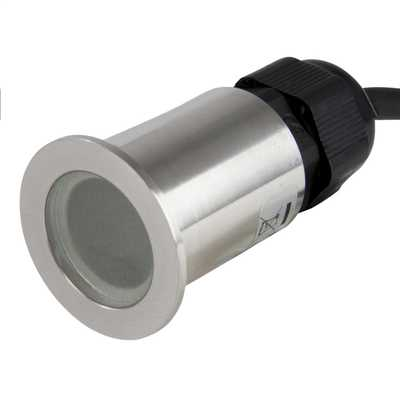 LED Outdoor Mini Walkover Ground Light Stainless Steel
