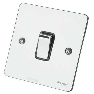 Polished Chrome FP Light Switch