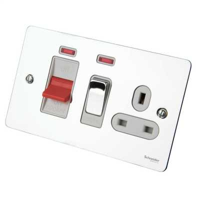 Polished Chrome FP Cooker Switch