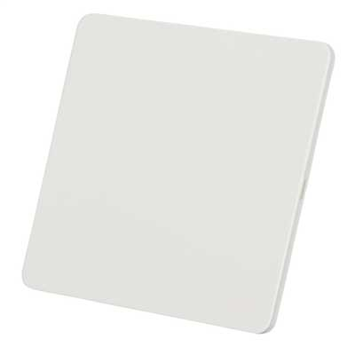 Painted White Metal Flat Plate