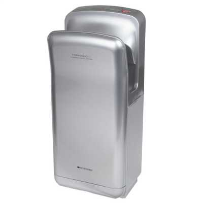 Heatstore 1 9kw Tornado High Speed Hand Dryer Silver