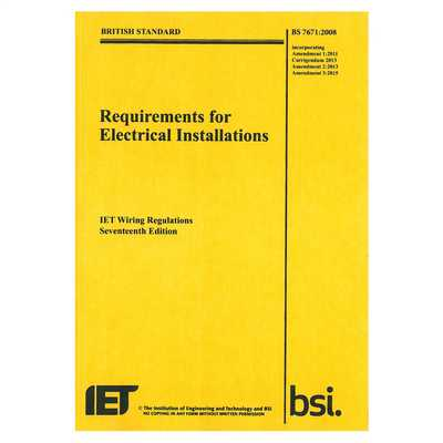Swell Iet Wiring Regulations 17Th Edition 2015 3Rd Amendment Pwr1703B Cef Wiring Database Wedabyuccorg