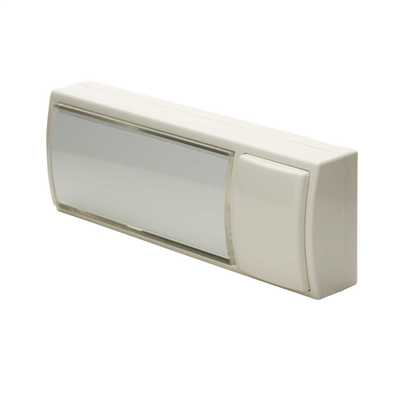 Illuminated Bell Push White