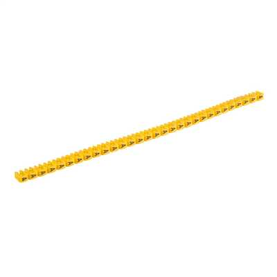 CAB 3® Cable Markers 0.5 to 1.5mm² Black on Yellow A (Pack of 300)