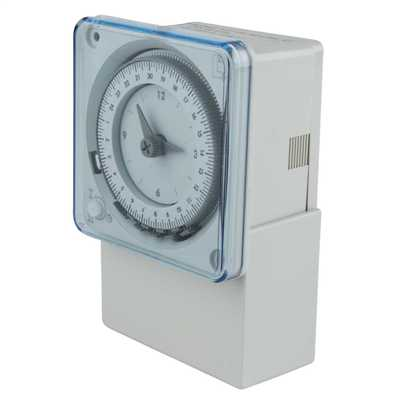 MaxiRex QT 24Hr Timer Switch with 100 Hour Working Reserve 50Hz