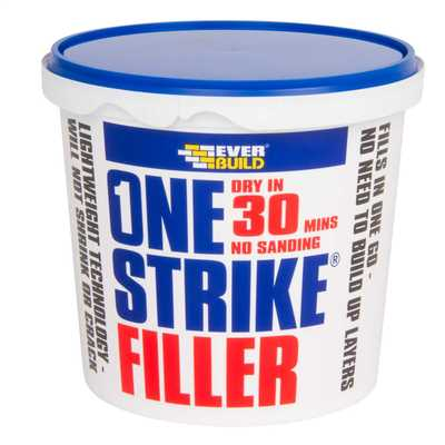 1 Litre One Strike Filler White