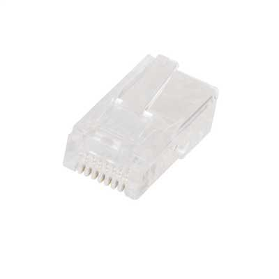 RJ45 Solid UTP Plug (Sold in 1's)
