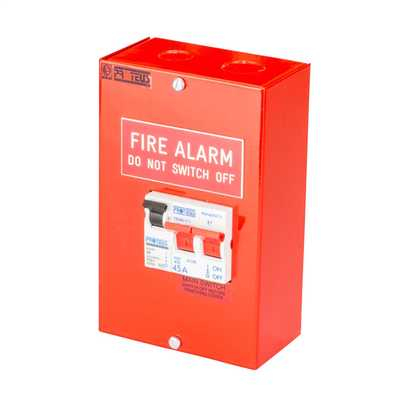 proteus fire alarm switch