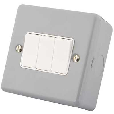 Metal Clad Light Switches