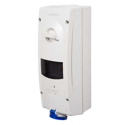 Interlocked Sockets RCD Protected