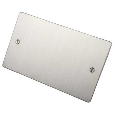 Brushed S/Steel Flat Plate