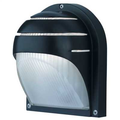 Outdoor and Porch Wall Light Die Cast Black