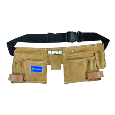 11 Pocket Double Pouch Tool Belt