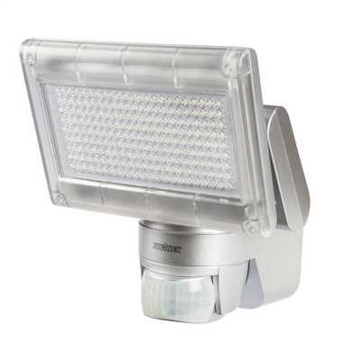 Sensor Switched Outdoor Floodlight Silver