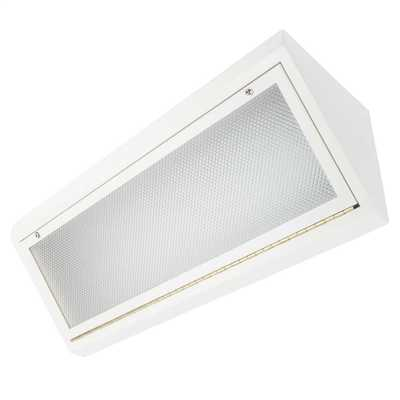 2 x 35W T5 Bronx Vandal Resistant Surface Module with Diffuser