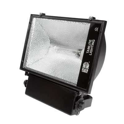 Tamlite 400w Ip65 Metal Halide Floodlight Black