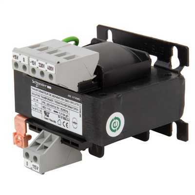 230V or 400V Input to 115V Output 40VA SP Safety Transformer