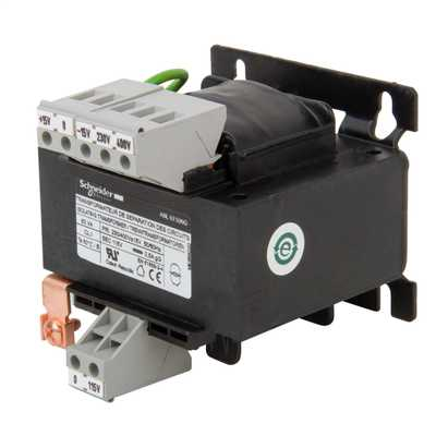 230V or 400V Input to 115V Output 63VA SP Safety Transformer
