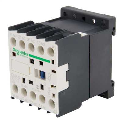 110V Control Relay 2 NO + 2 NC Contacts